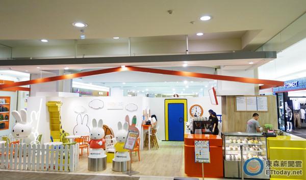 miffy x 2 Cafe' taiwan 11