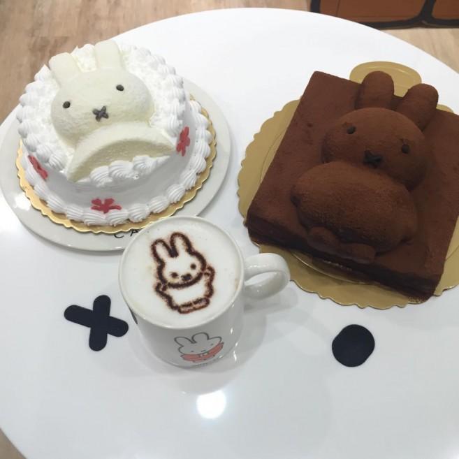 miffy x 2% CAFE คาเฟ่มิฟฟี่ ที่ไทเป ไต้หวัน