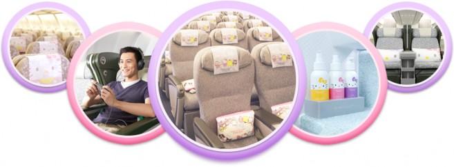 EvaKitty Jet สิ่งอำนวยความสะดวก Exclusive Cabin เครื่องบินคิตตี้ Amenities