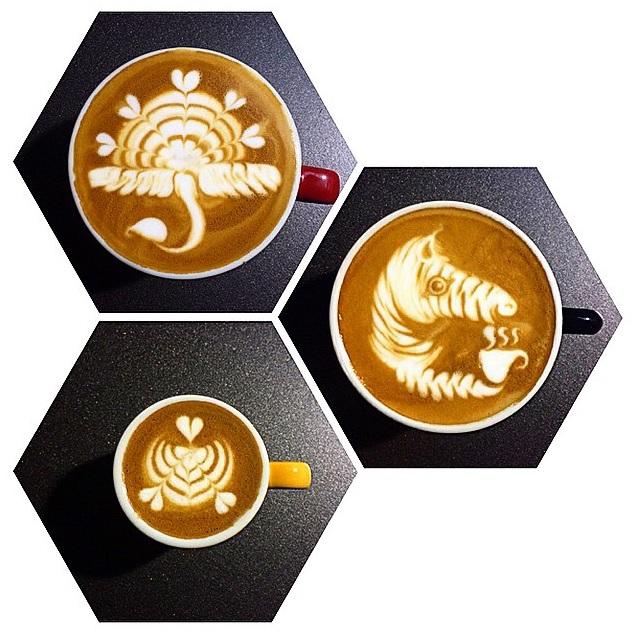 ลาเต้อาร์ทขั้นเทพของแชมป์โลก World Latte Art Championship 2015