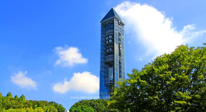 เที่ยวญี่ปุ่น อาคาร Higashiyama Sky Tower ขึ้นหอชมวิว 3 in 1 แบบนี้ที่จูบุ
