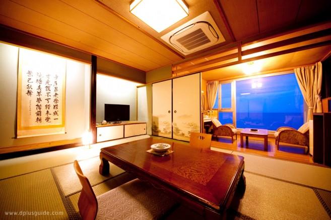 ภาพตัวอย่างห้องพัก ในโรงแรม Beppu Onsen Umi Kaoru Yado Hotel New Matsumi Rooms (kyakushitu) คิวชู