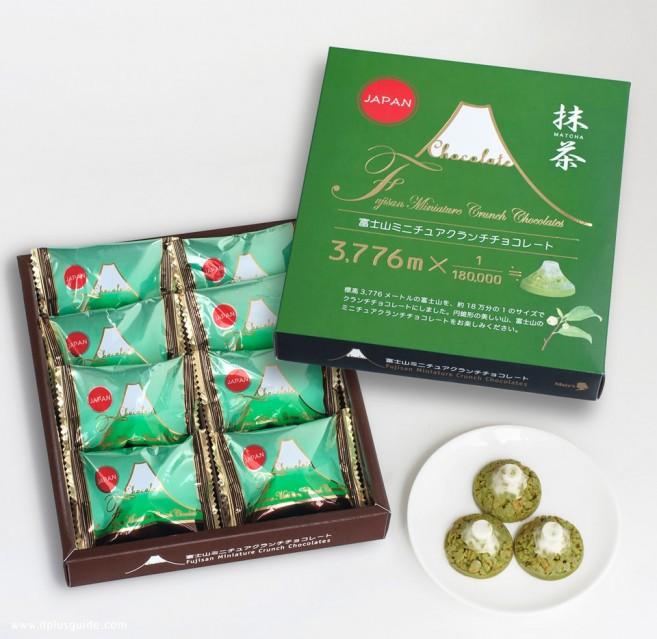 """เที่ยวญี่ปุ่น ของฝาก """"ช็อกโกแลตภูเขาไฟฟูจิ"""" หาซื้อได้ที่ Odakyu Department Store Shinjuku"""