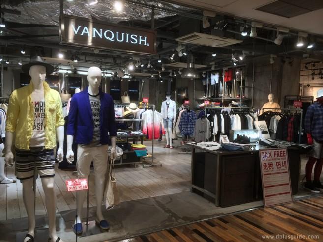 หน้าร้าน VANQUISH Shibuya 109MEN'S