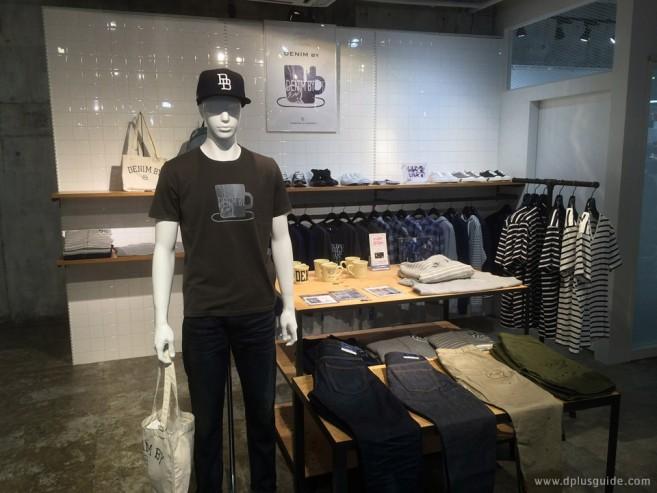 Denim By VANQUISH & FRAGMENT แบรนด์ที่เกิดจากการร่วมมือกันของ VANQUISH และ FRAGMENT มีขายที่ร้าน VANQUISH Shibuya 109MEN'S สาขาชิบุยะค่ะ