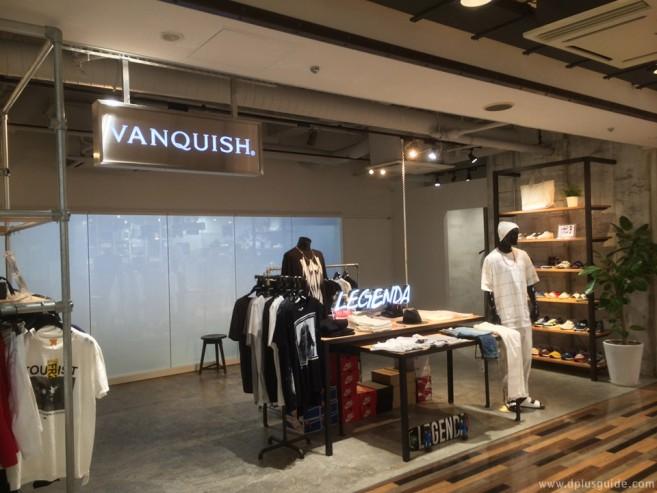 เที่ยวญี่ปุ่นย่านชิบุยะ VANQUISH Shibuya 109MEN'S ร้านเสื้อผ้าไฮเทคสำหรับหนุ่มๆ