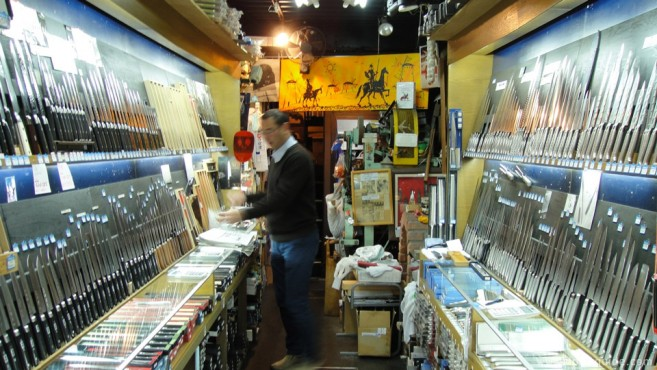 เที่ยวญี่ปุ่น แนะนำร้านมีดซึบะยะ TSUBAYA ย่านอาสะกุสะ (Asakusa) โตเกียว