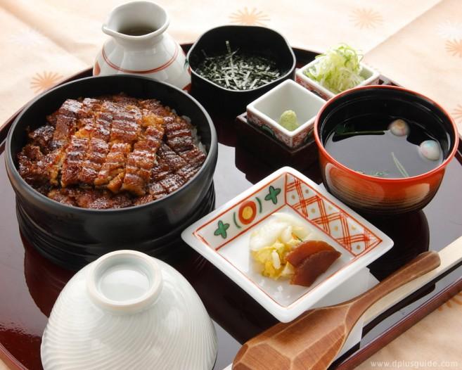 เมนู Jou-Hitsumabushi ข้าวหน้าปลาไหลฮิทสึมาบูชิ ร้าน Bincho