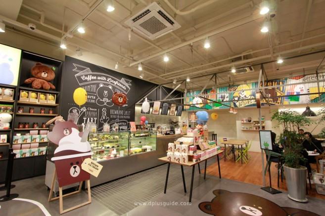 สาวก LINE ไม่ควรพลาด! ช้อปของแท้ LINE FRIENDS Café & Store ที่โซล