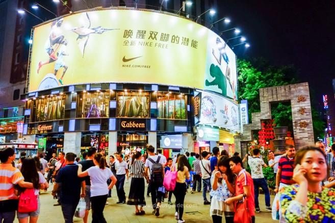 เที่ยวจีน ช้อปสินค้าส่ง ที่กวางโจว ย่าน Beijinglu (เป่ยจิงลู่) ย่านศูนย์กลางการค้านี้เป็นย่านถนนคนเดิน