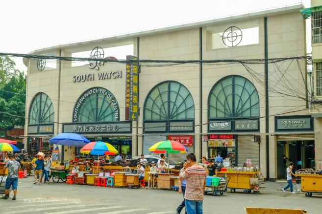 เที่ยวจีน ช้อปสินค้าส่ง ที่กวางโจว ตลาดค้าส่งนาฬิกาแบรนด์เนม ย่าน Zhan Xi Lu (จ้านซีลู่)