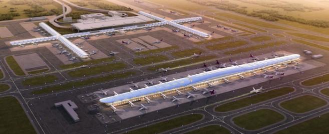 สนามบินสุวรรณภูมิ เฟส 2 อาคารเทียบเครื่องบินหลังที่ 1 (ชั้น B2 ชั้น B1 และชั้น G) คาดว่าแล้วเสร็จปี 2562
