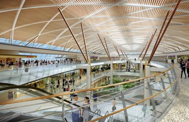 สนามบินสุวรรณภูมิเฟส 2 อาคารเทียบเครื่องบินหลังที่ 1 (ชั้น B2 ชั้น B1 และชั้น G) คาดว่าแล้วเสร็จปี 2562