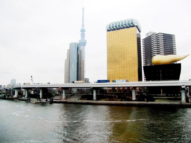 เที่ยวโตเกียว ชมวิวจากฝั่งอาคาร TOKYO CRUISE