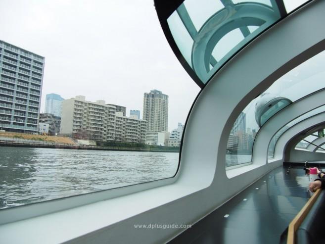 เที่ยวโตเกียว นั่งเรือไปโอไดบะ ด้วย TOKYO CRUISE