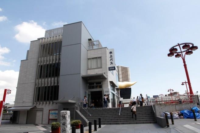 เที่ยวโตเกียว นั่งเรือโดยสารชมวิวริมแม่น้ำสุมิดะ ท่าเรือ TOKYO CRUISE สาขา Asakusa