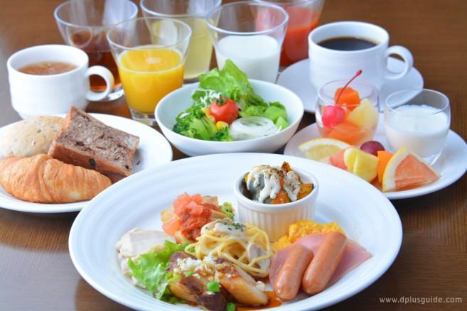 ร้านอาหารอยู่ที่ชั้น 14 โรงแรม BEST WESTERN Hotel Fino Sapporo