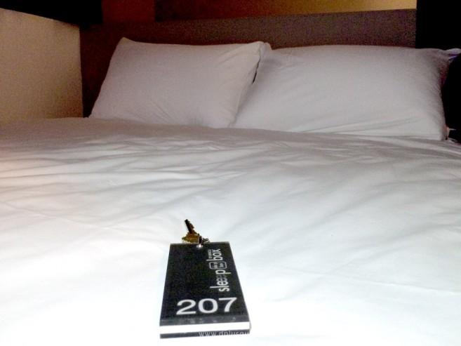 รีวิว โรงแรมแคปซูล sleeep box by MIRACLE สนามบินดอนเมือง