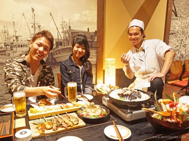 เที่ยวฮอกไกโด แนะนำร้านอาหาร ร้านอาหารสไตล์อิซากายะ Sanchi Chokusou Hokkaido ใกล้สถานีซัปโปโร