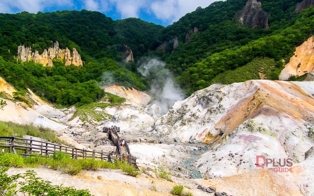 เที่ยวฮอกไกโด หุบเขานรก (Jigokudani) ที่เมือง Noboribetsu Onsen
