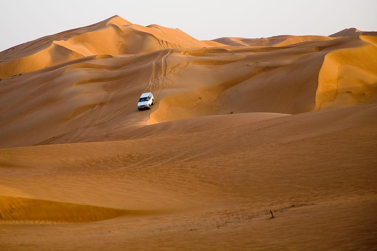 การเดินทางในทะเลทรายวาฮิบา (Wahiba Sands) ในโอมาน