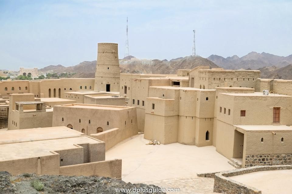 ด้านในป้อมปราการบาห์ลา (Bahla Fort) ที่โอมาน