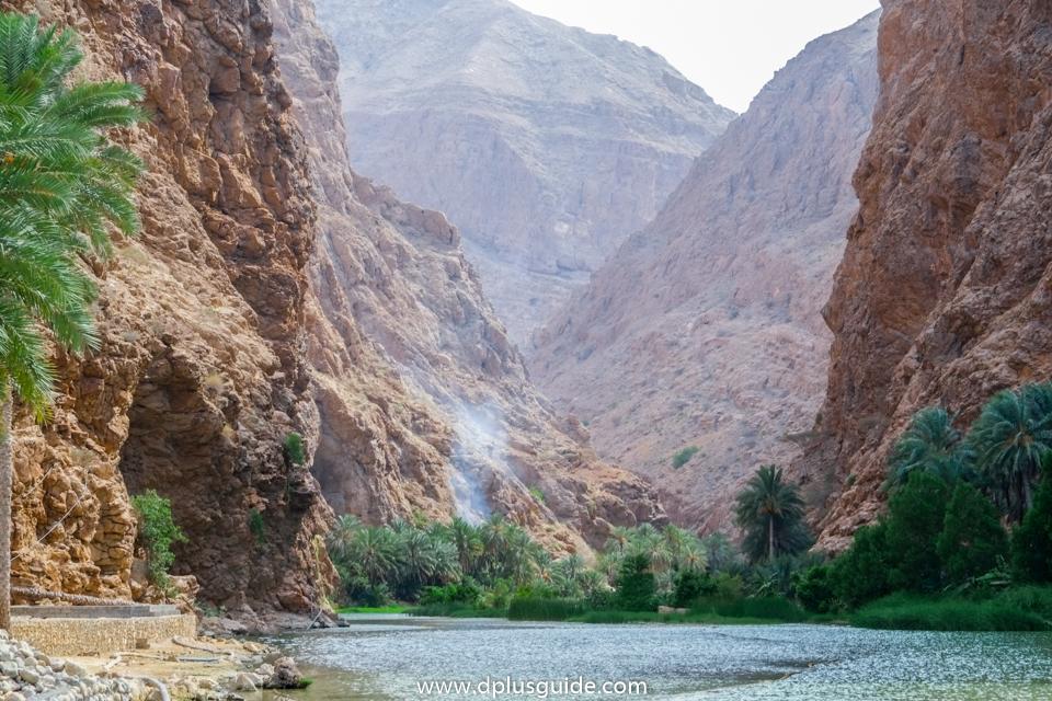 โอเอซิส Wadi Shab (วาดิชาบ) ที่โอมาน