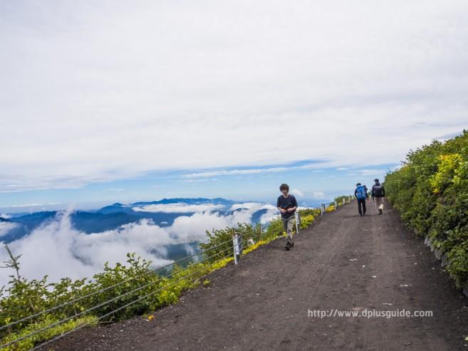เที่ยวญี่ปุ่น พิชิตภูเขาไฟฟูจิ วิวจาก Station 5 ภูเขาไฟฟูจิ