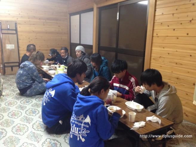 ที่โรงแรม Gunso - Muro บนภูเขาไฟฟูจิ มีเพื่อนร่วมอุดมการณ์ เพียบเลย