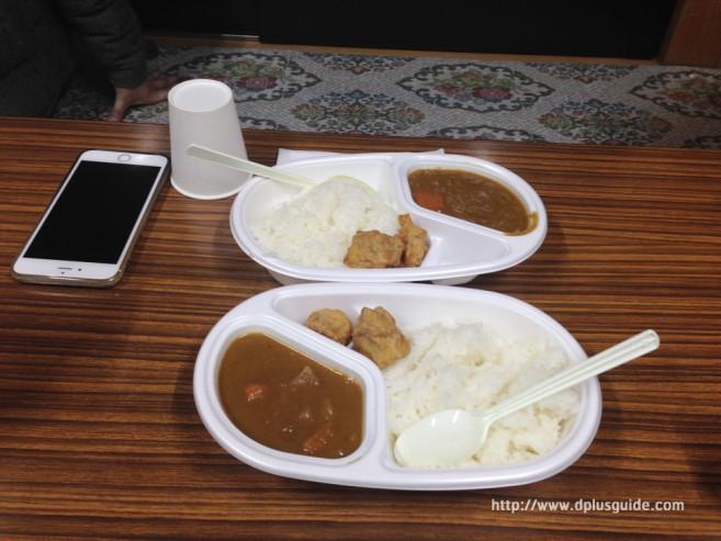 เที่ยวญี่ปุ่น อาหารมื้อเย็นที่ โรงแรม Gunso - Muro บนภูเขาไฟฟูจิ ที่ความสูง 3,250 เมตร