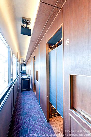 เที่ยวญี่ปุ่น ชมบรรยากาศหรูหราภายในตู้รถไฟภัตตาคาร Tohoku Emotion