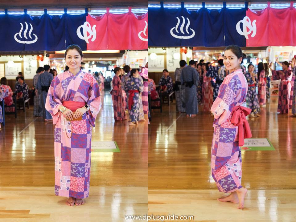 ชุดยูกาตะ ออนเซ็น โอเอโดะ ออนเซ็น โมโนกาตาริ (Oedo Onsen Monogatari)