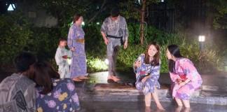 แช่ออนเซ็น ออนเซ็น โรงอาบน้ำ Oedo Onsen Monogatari โอเอโดะ โมโนกาตาริ