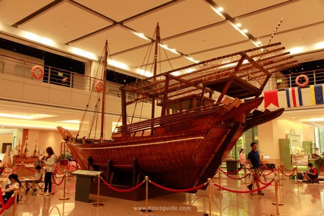 พิพิธภัณฑ์ Evergreen Maritime Museum ในไทเป ประเทศไต้หวัน