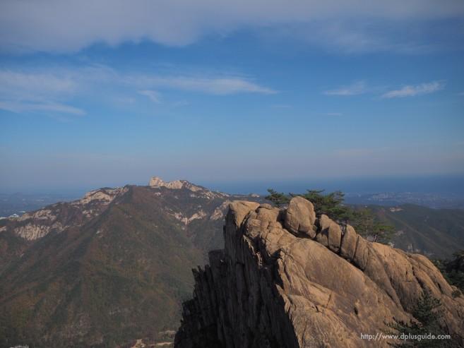 ปีนเขาซอรัคซาน ขึ้นเขาลูกแรก Gwongeumseong-Fortress ตามรอยซีรีย์เกาหลี