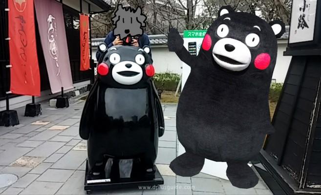 ถ่ายรูปคู่คุมะมงด้วยแอพพลิเคชั่น くまフォト (Kuma Photo)