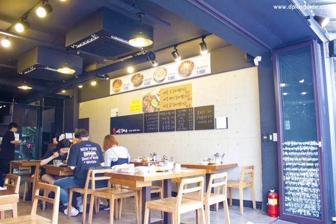 เที่ยวเกาหลี เที่ยวโซล ร้านสตูเนื้อ Maeun Galbiya