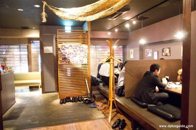 เที่ยวญี่ปุ่น เที่ยวคิวชู เที่ยวฟุกุโอกะ ร้าน Sakana Marche