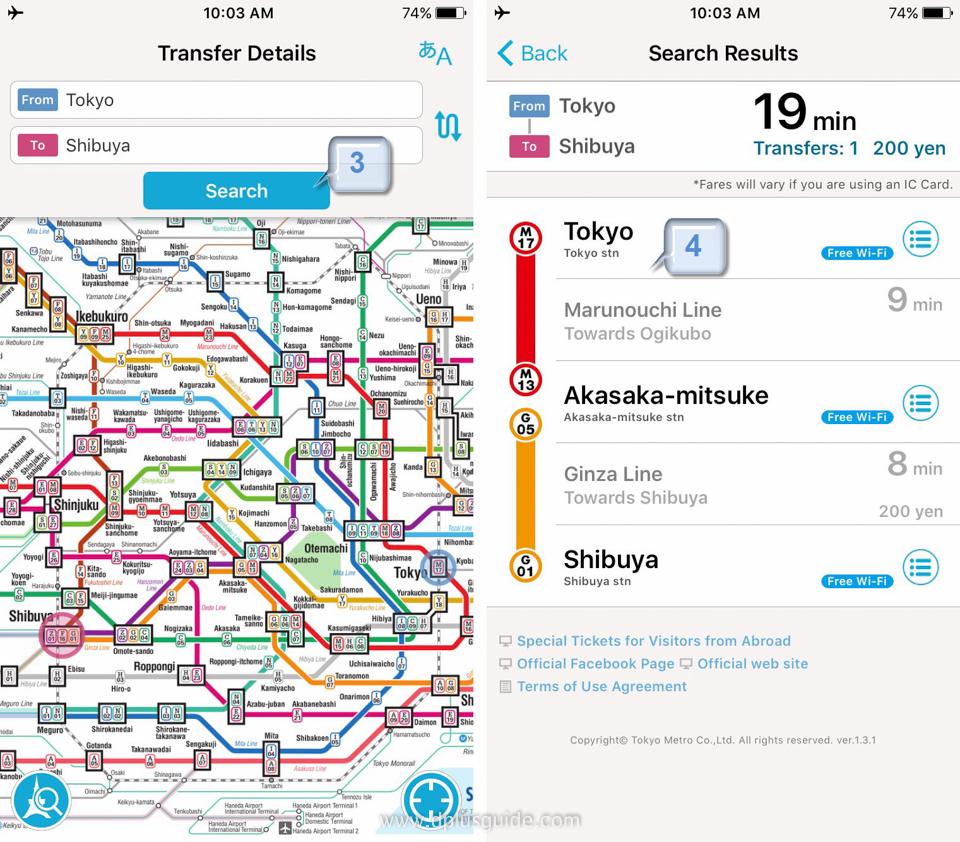 นั่งรถไฟในโตเกียวอย่างมือโปรด้วยแอพ Tokyo Subway