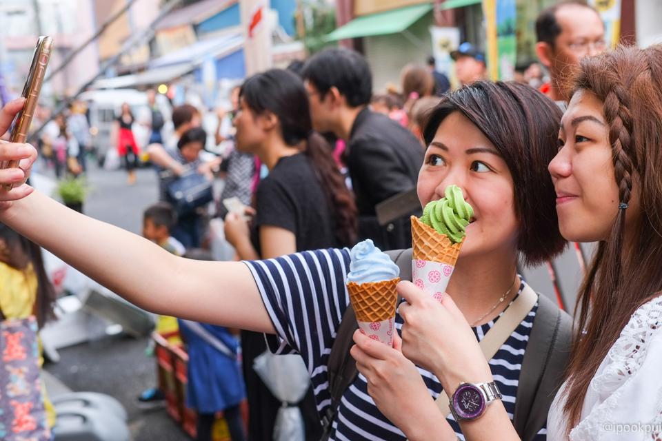 รีวิว เดินเที่ยว เดินกินที่ตลาดปลาสึกิจิ (Tsukiji)