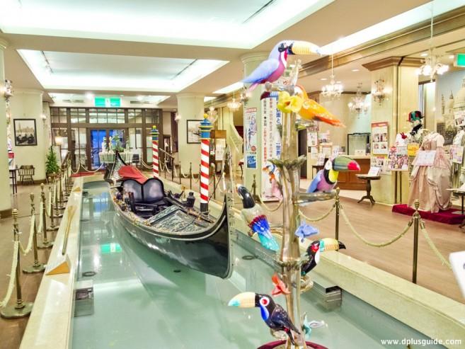 เที่ยวญี่ปุ่น เที่ยวซัปโปโร พิพิธภัณฑ์ศิลปะเครื่องแก้วเวนิส (Venetian Art Museum)