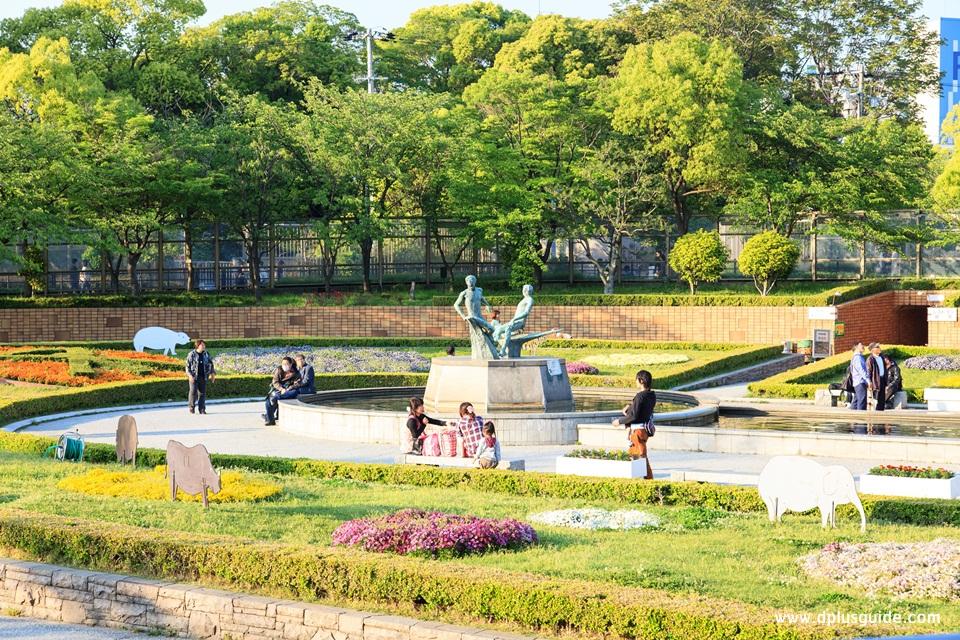 เที่ยวญี่ปุ่น สวนสาธารณะเทนโนจิ (Tennoji Park)