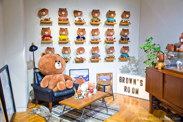 โซนห้องส่วนตัวของ Brown เป็นมุมถ่ายรูปที่ถ้ามาถึงทั้งทีก็อดแชะซะหน่อยไม่ได้!