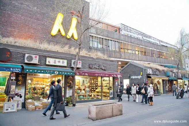 ย่านอินซาดง Insa-dong