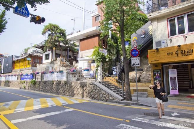 ถนนซัมชองดง Samcheong-dong