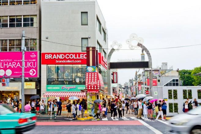 เที่ยวโตเกียว ถนนทาเคชิตะ (Takeshita) ถนนที่ถ้าไม่ได้มาก็เหมือนมาไม่ถึงฮาราจุกุ