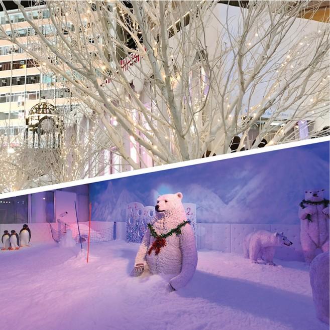 เที่ยวฮ่องกงช่วงปีใหม่ เล่นหิมะที่ Times Square Hong Kong (ไทม์แสควร์ ฮ่องกง)