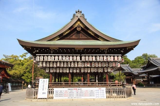 เที่ยวญี่ปุ่น เที่ยวคันไซ เที่ยวเกียวโต ศาลเจ้าYasaka