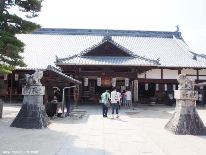 เที่ยวญี่ปุ่น ภูมิภาคจูโงะกุ ชมวัดโบราณของศาสนาพุทธนิกายชินกอนได้ที่ วัด Daiganji ที่เมืองฮิโรชิม่า