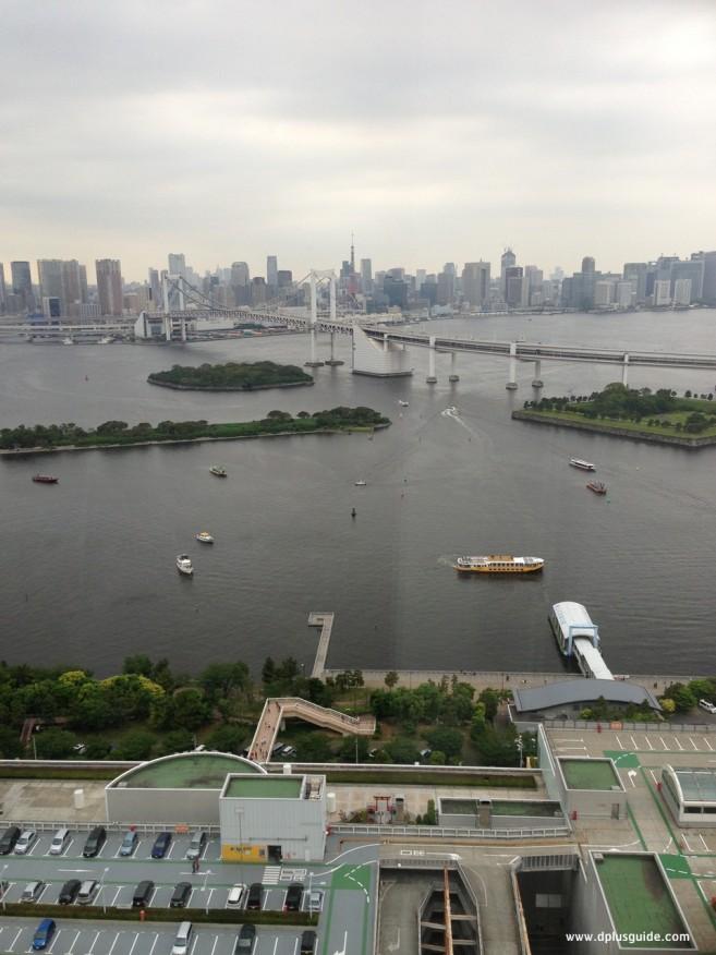 เที่ยวคันโต คนไหนที่อยากชมวิวสวยๆบนยอดตึก Fuji TV สามารถไปชมกันได้ ที่โตเกียว